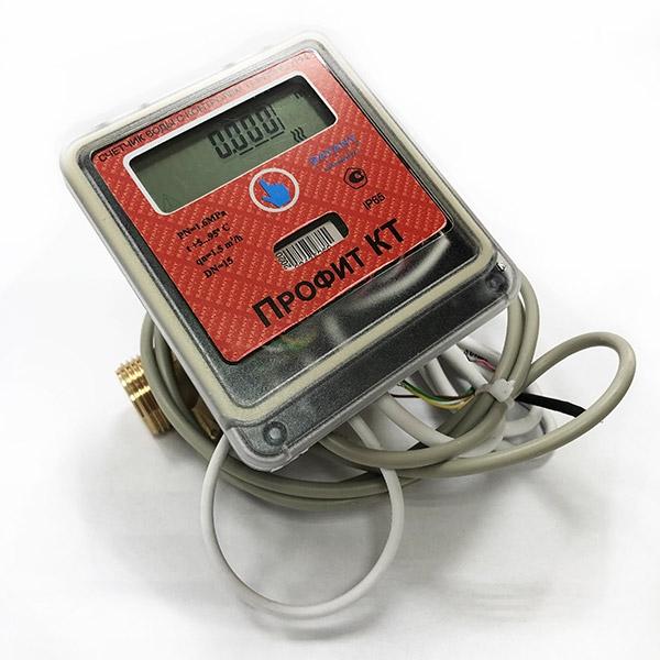 Счётчик Профит КТ с контролем температуры ГВС