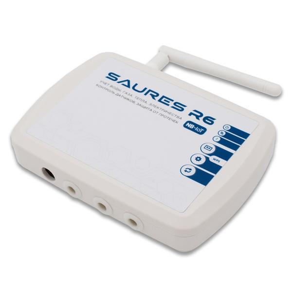 Контроллер SAURES R6 m2, NB-IoT, 8 каналов и 32 RS-485