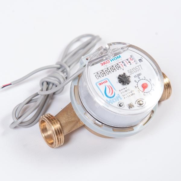 Счетчик воды универсальный ЭКО НОМ-СВ-15-110И